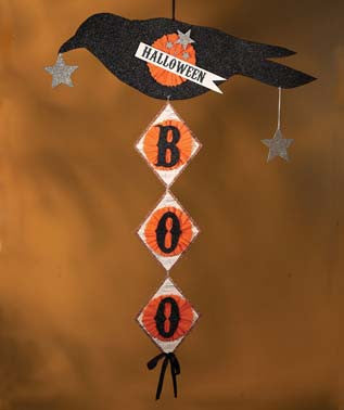 Boo Crow Banner