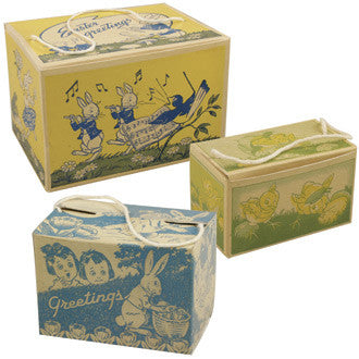 1930's Easter Candy Boxes