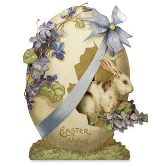 Happy Easter Wishes Tin Sign