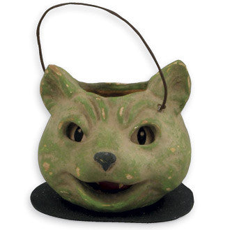 Green Cat Bucket