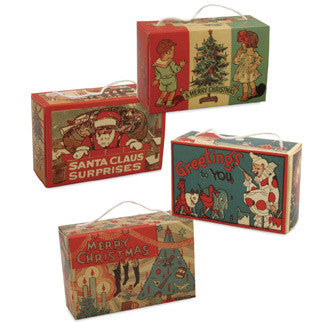 1930's Christmas Candy Boxes