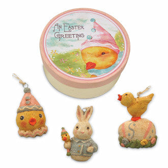 Easter Ornaments in Box