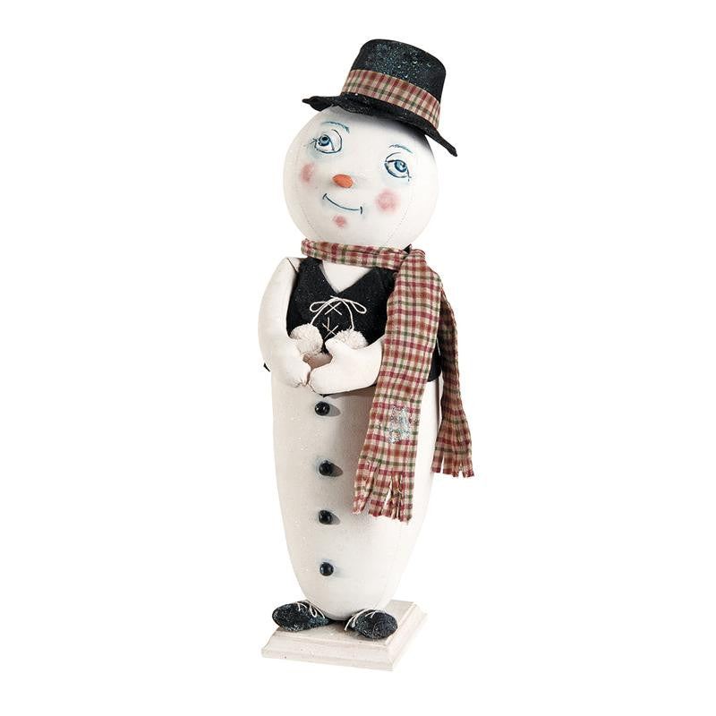 Milton Snowman- Joe Spencer Christmas - Gathered Tradtions