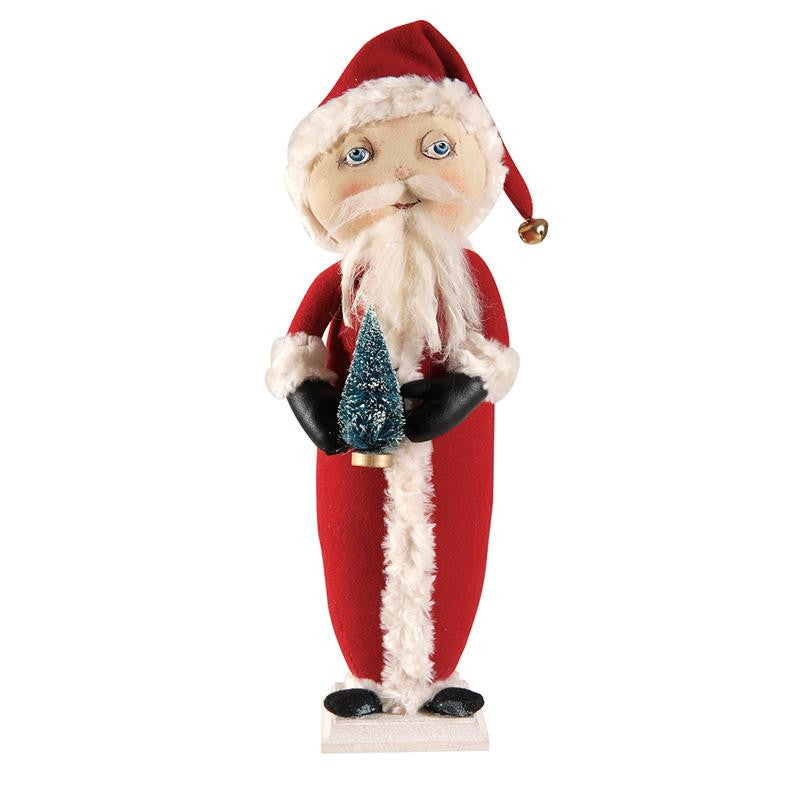 Arthur Santa - Joe Spencer Christmas Cloth Dolls