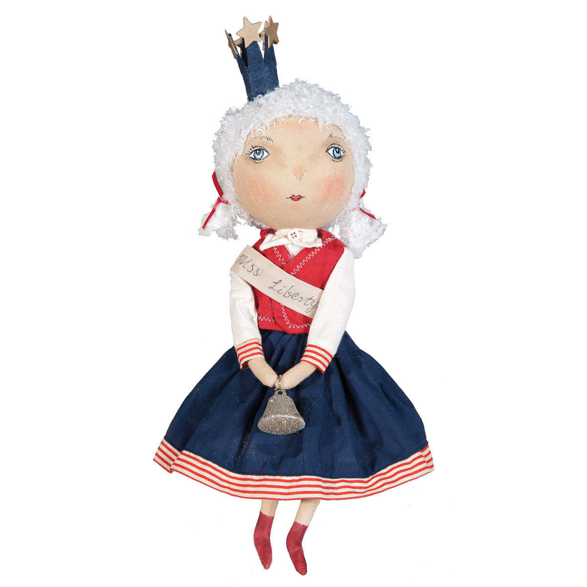 Joe Spencer 4th of July Lady Liberty Doll
