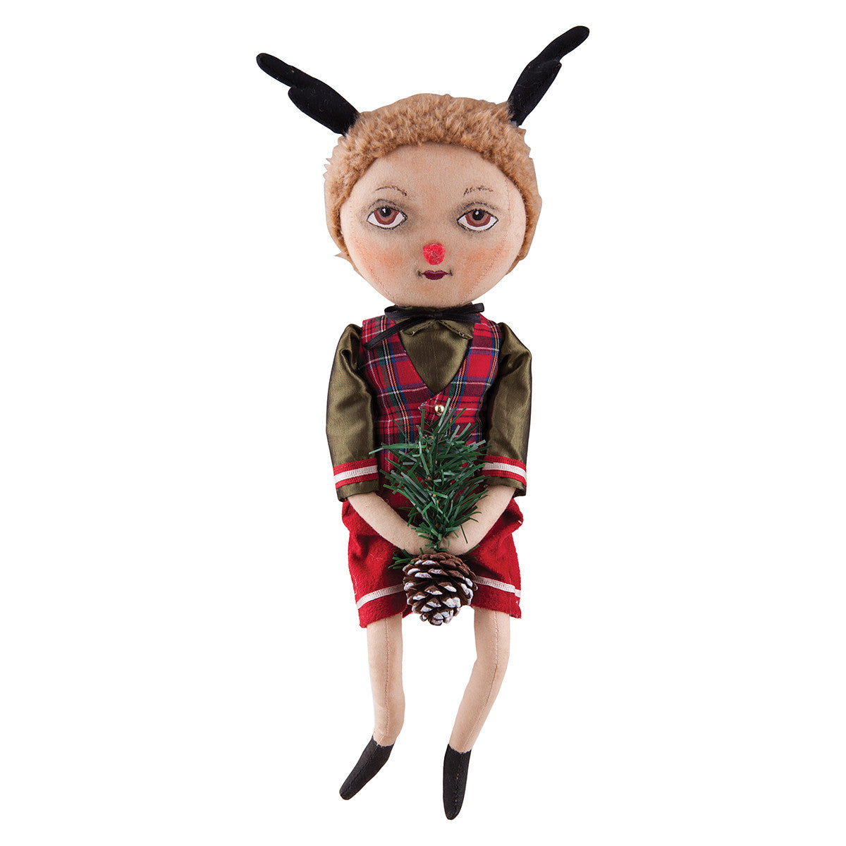 Dudley Deer Doll | Joe Spencer Reindeer