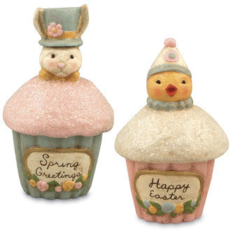 Spring Cupcake Containers
