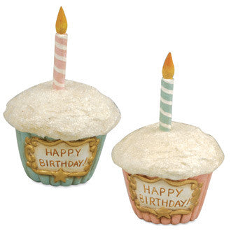 Happy Birthday Cupcake Containers