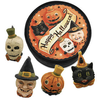 Happy Halloween Boxed Ornaments