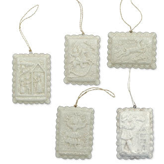 Springerle Cookie Ornaments