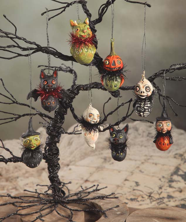 Little Ghoul Ornaments by Debra Schoch for Bethany Lowe