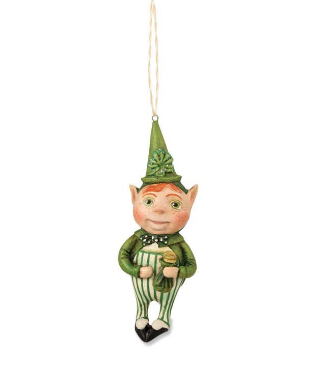Lucky Leprechan Ornament