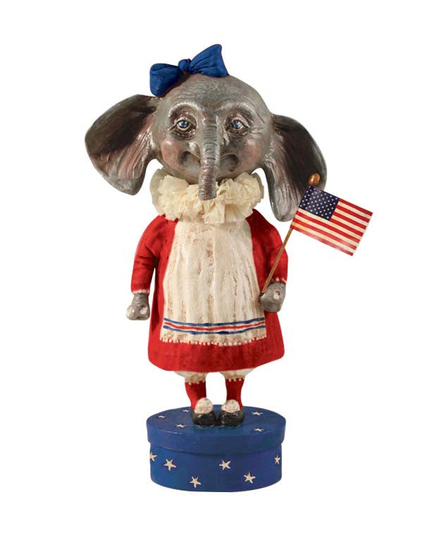 Ellie The Americana Elephant by Debra Schoch