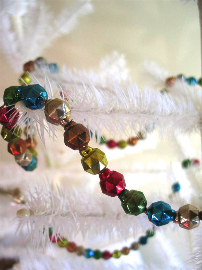 Multi Color Facet Garland