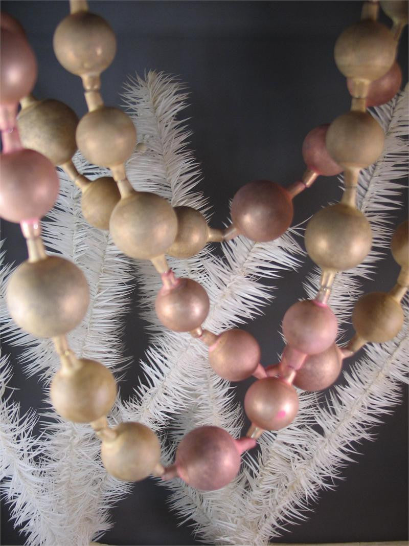 Pink Bauble Garland