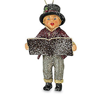 Caroling Boy Ornament