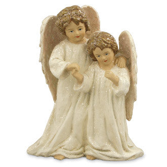 Two Sisters Angel Table Piece