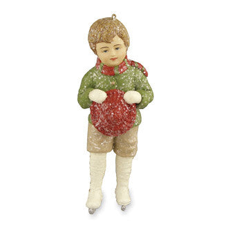 William with Tam Ornament