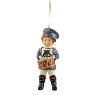 Drummer Boy Willie Ornament