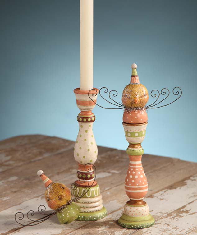 Chick Candlesticks