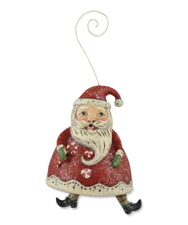 Dancing Santa Ornament