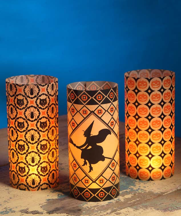 Halloween Kaleidoscope Luminaries