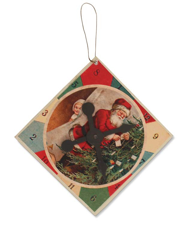 Santa Gameboard Ornament
