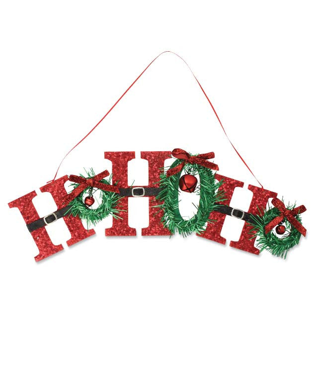 Retro Ho Ho Ho Sign