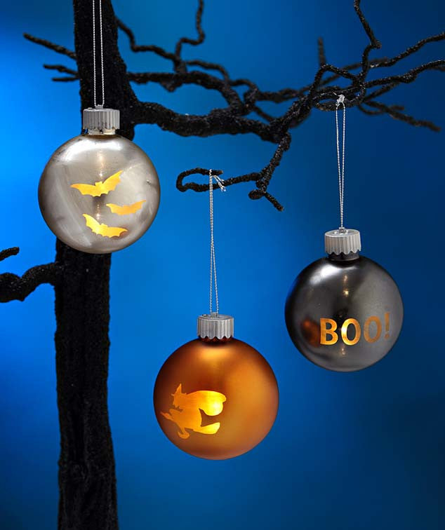 LED Lite Up Halloween Ornaments