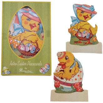 Retro Easter Placecards