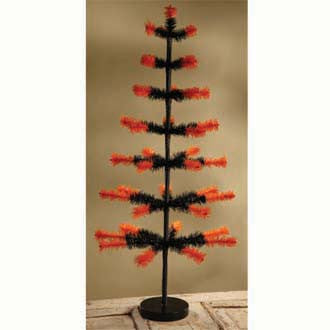 "Feather Tree 36"" Orange Tip"
