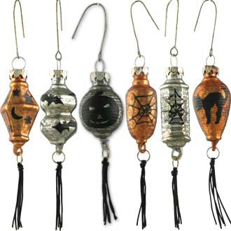 Halloween Lantern Ornaments