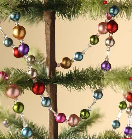 Jewel Toned Garland