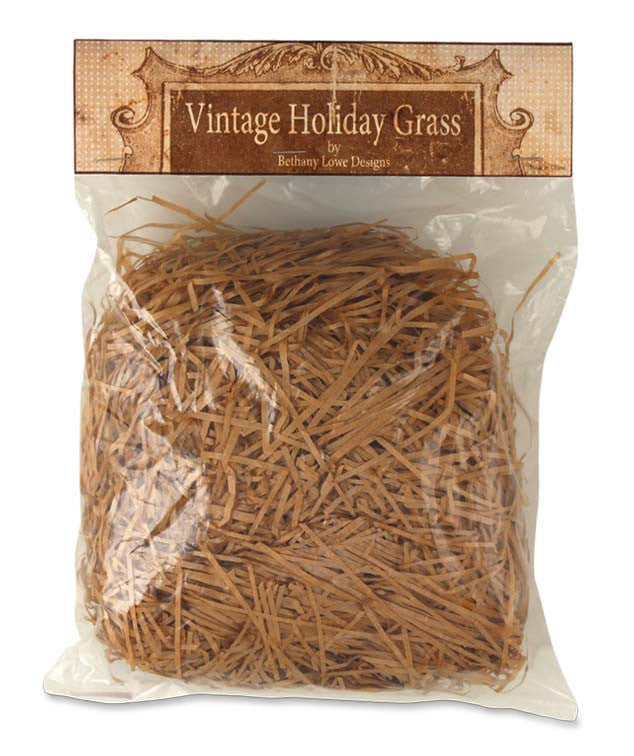 All Seasons Vintage Grass - Bethany Lowe Natural Tan Thanksgiving
