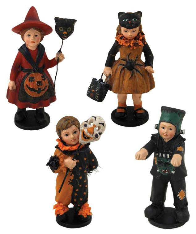 Bethany Lowe Mini Halloween Children Trick or Treaters