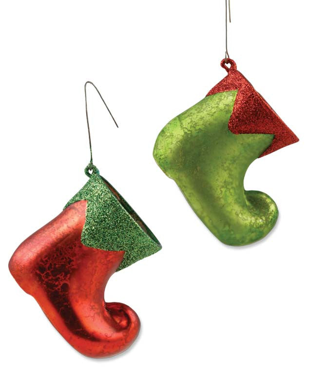 Elf Boot Ornaments