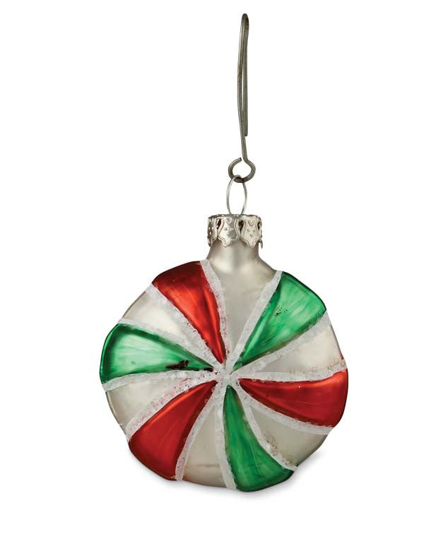 Round Glass Candy Ornament