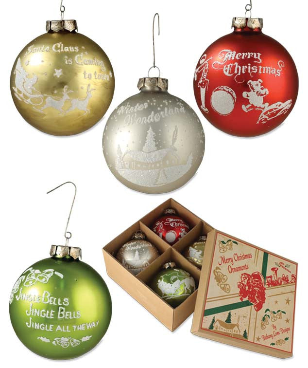 Traditional Silhouette Ornaments