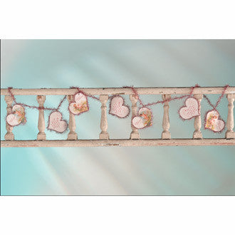 Kind & True Cherub Heart Garland