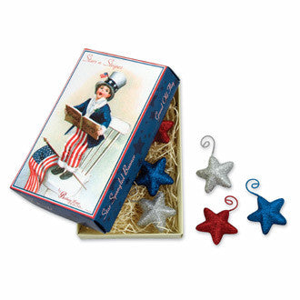 Liberty Star Ornament in Vintage Box
