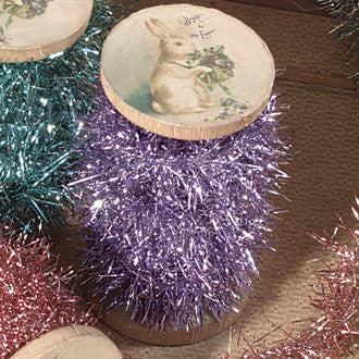 Spool of Tinsel Lavender
