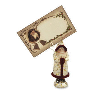 Belsnickel Place Card Holder - Bethany Lowe Christmas