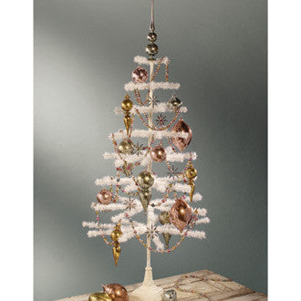 Ivory Feather Tree 54""