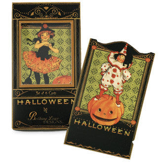 Boy and Girl Halloween Cards