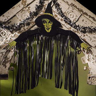 Old Witch Party Wall Dressing