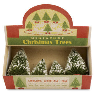 Vintage Box of Trees