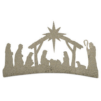 Nativity Table Sign