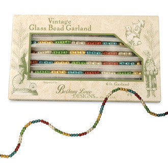 Traditional Connected Bead Garland