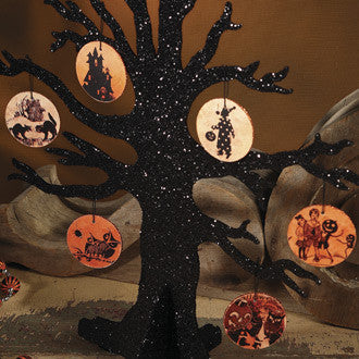Halloween Paper Tag Ornaments