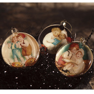 Halloween Children Disk Ornaments